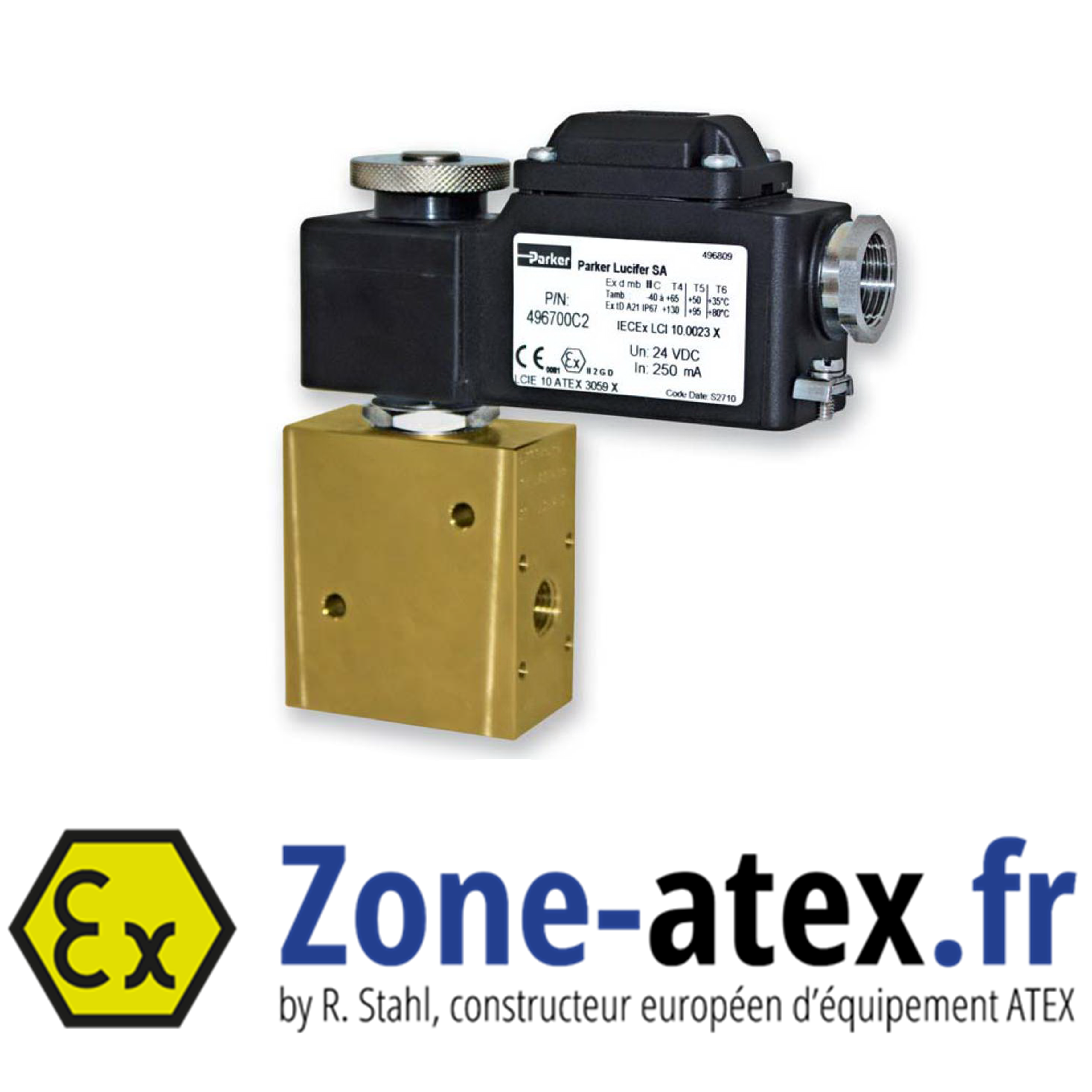 Electrovanne ATEX