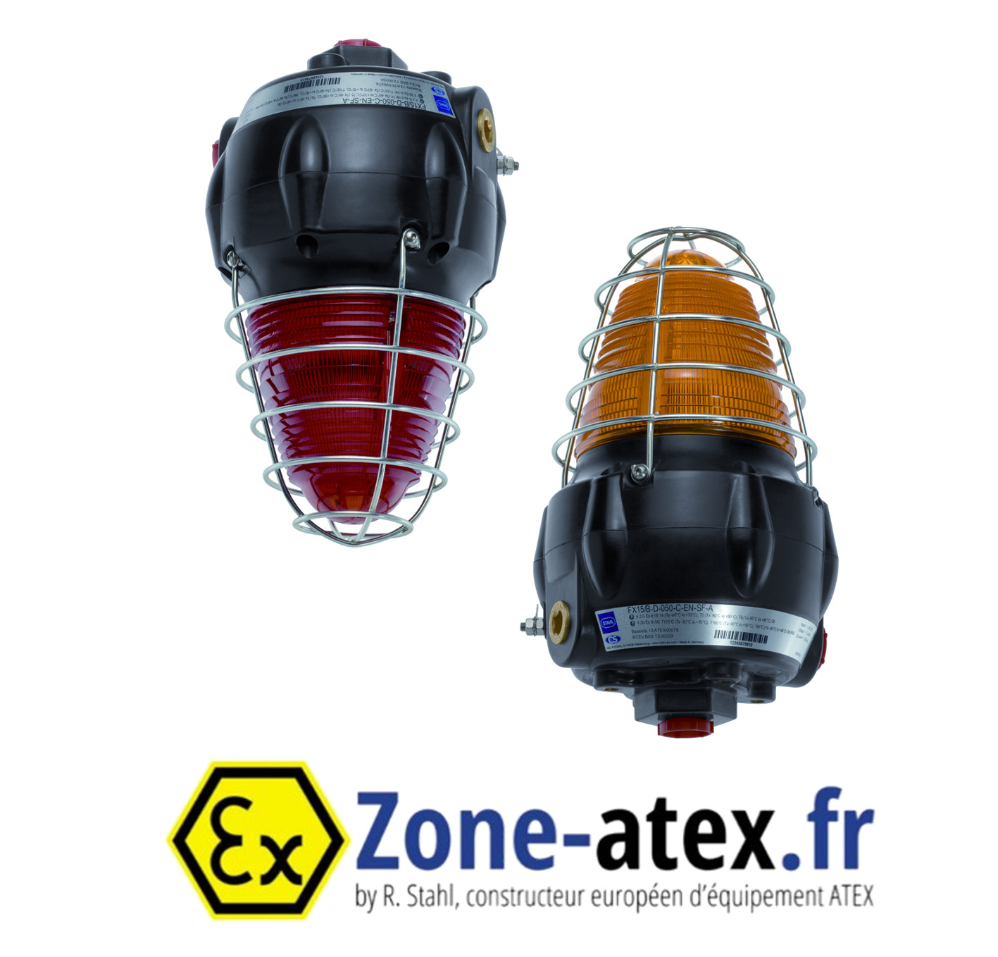 Feu flash ATEX au xénon