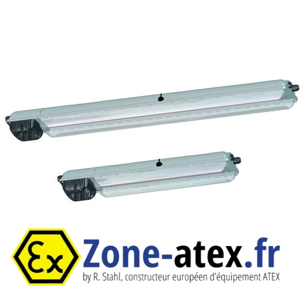 Luminaire secouru à LED ATEX